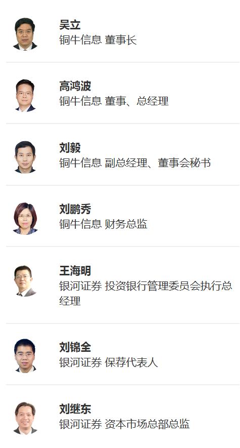 [快讯]铜牛信息首次公开发行股票并在创业板上市网上路演9月14日成功举行