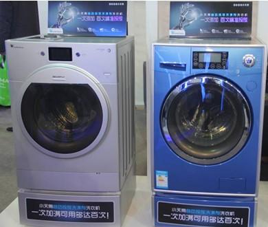 结构调整的持续推进,洗衣机市场也向着智能低碳方向